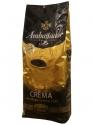Кофе в зернах Ambassador Crema (Польша) 1kg.